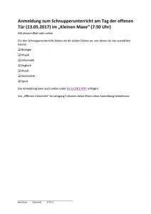 thumbnail of Anmeldeformular-Schnupperunterricht