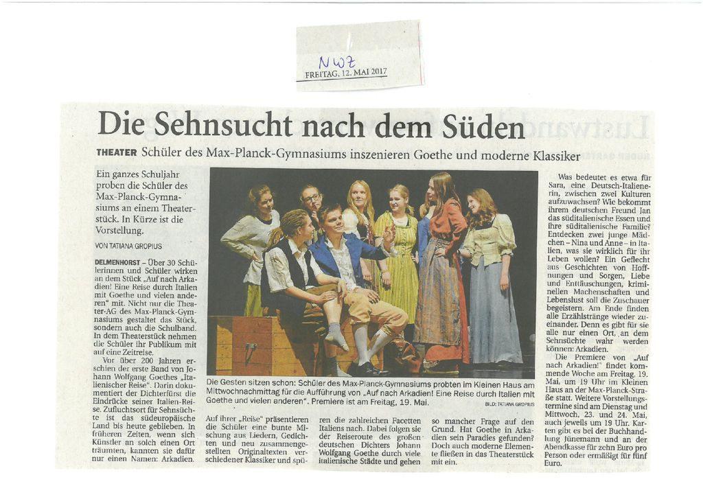 thumbnail of 2017-05-12 NWZ Arkadien_Sehnsucht nach dem Süden