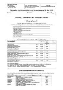 thumbnail of Leihschein Klasse 6-2018-2019