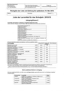 thumbnail of Leihschein Klasse 8-2018-2019