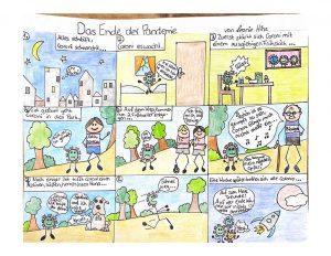 thumbnail of Comic Klasse 5b Leonie Hinz-gedreht